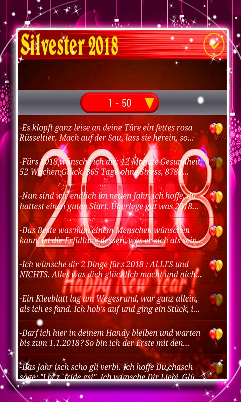SMS Silvester 2018 for Android - APK Download