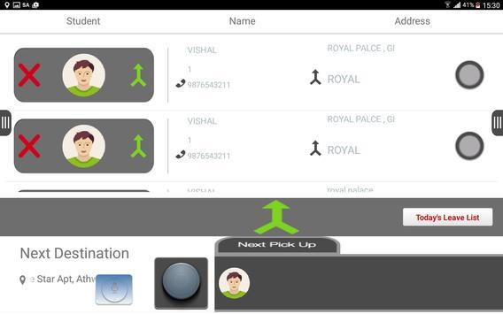 Driver Console SpotMySchoolBus screenshot 6