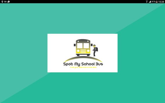 Driver Console SpotMySchoolBus poster