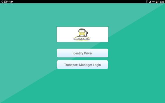 Driver Console SpotMySchoolBus screenshot 1