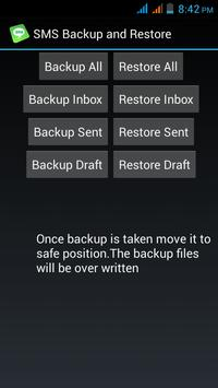 SMS Backup and Restore poster