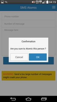 Sms Atomic apk screenshot