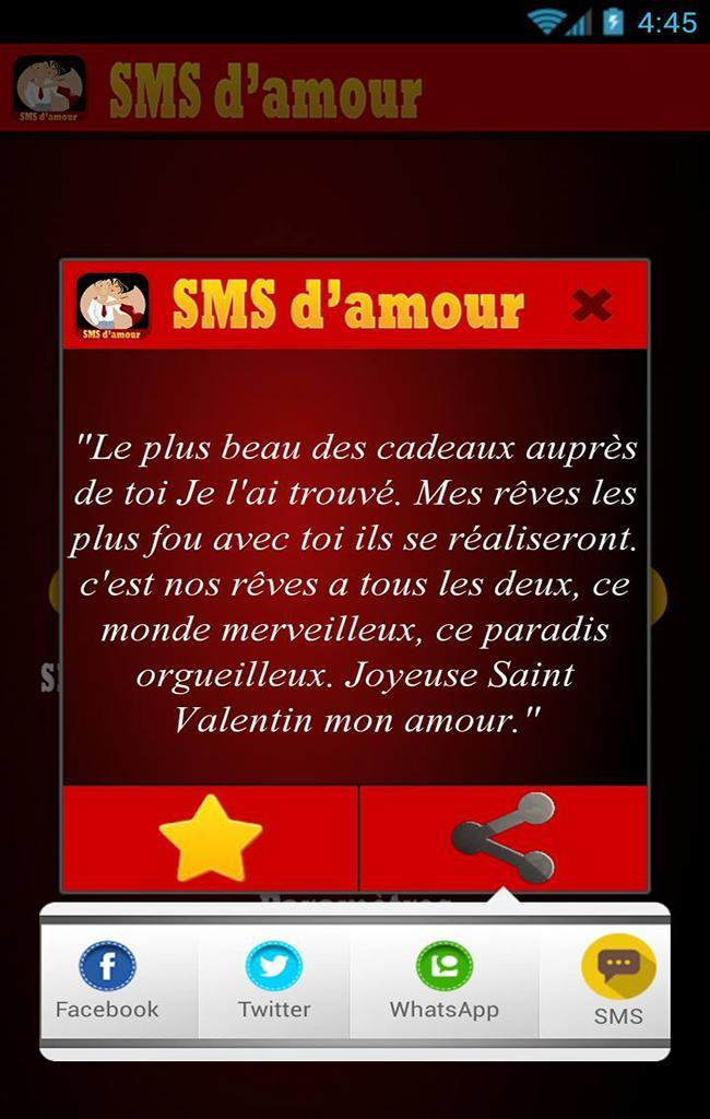 1000 Sms Damour For Android Apk Download