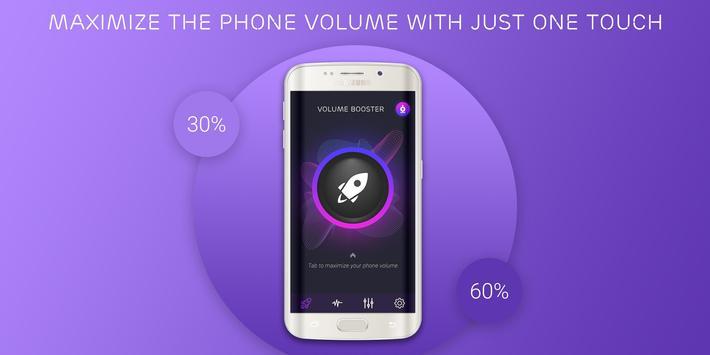 Volume booster - Sound booster screenshot 1