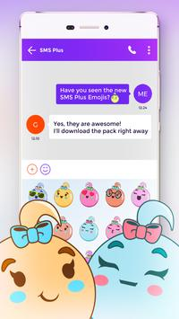 Colorful Emoji Pack for SMS Plus screenshot 3