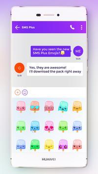 Sweet Emoji Pack for SMS Plus screenshot 2