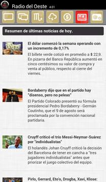 Radio Del Oeste AM Colonia screenshot 1