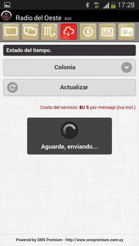 Radio Del Oeste AM Colonia screenshot 2