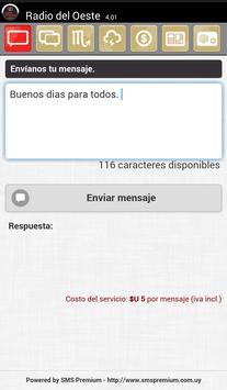 Radio Del Oeste AM Colonia screenshot 4