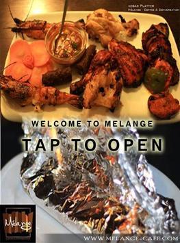 MELANGE CAFE poster