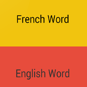 Learn French Words icon