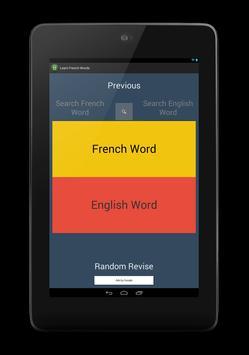 Learn French Words screenshot 2