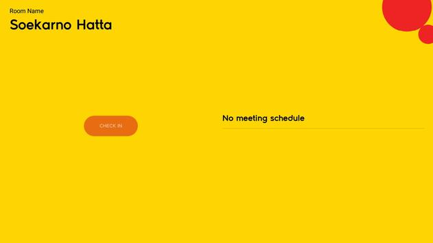 SMR Scanner ( Smart Meeting Room Reservation) screenshot 1