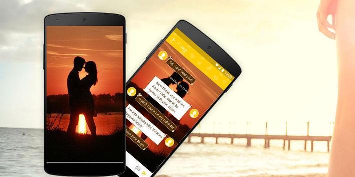 IVY SMS Love Wallpaper apk screenshot