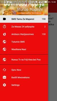 SMS za Mapenzi poster