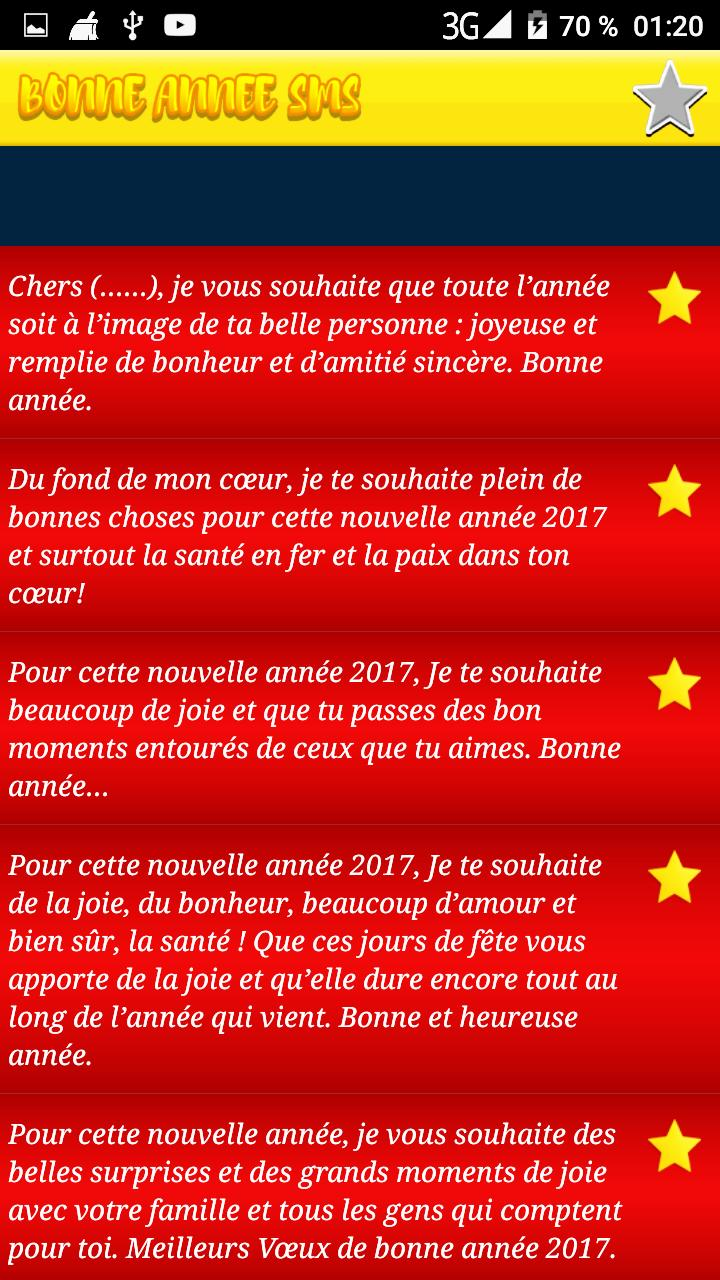 Sms Bonne Année 2018 For Android Apk Download
