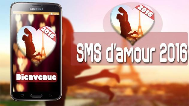 Sms d amour 2016 poster