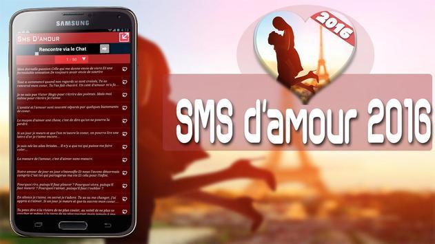 Sms d amour 2016 apk screenshot
