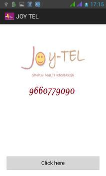 JOY TEL - 1 No. all recharges screenshot 1
