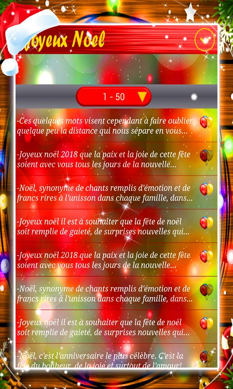 Sms Joyeux Noel 2018 For Android Apk Download