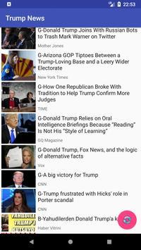 President Trump News - Instant Notifications screenshot 1