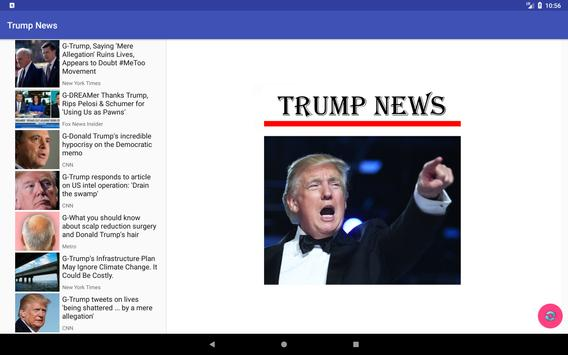 President Trump News - Instant Notifications screenshot 2