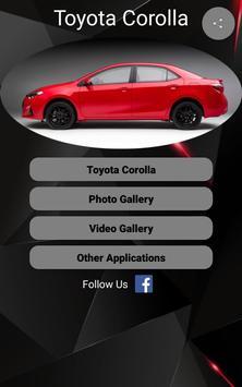 Toyota Corolla Car Photos and Videos poster