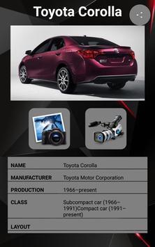 Toyota Corolla Car Photos and Videos screenshot 1