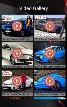 Toyota Corolla Car Photos and Videos screenshot 2