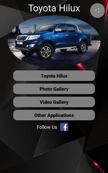 Toyota Hilux Car Photos and Videos screenshot 16