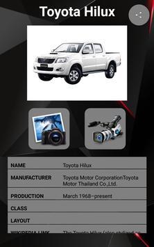 Toyota Hilux Car Photos and Videos screenshot 1
