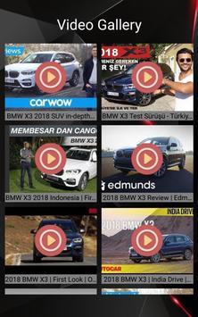BMW X3 Car Photos and Videos screenshot 10