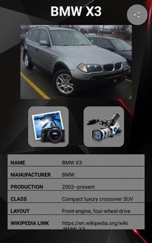 BMW X3 Car Photos and Videos screenshot 1