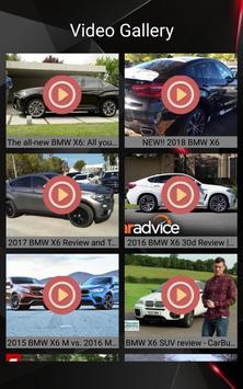 BMW X6 Car Photos and Videos screenshot 10