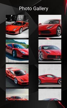 Ferrari 488 GTB Car Photos and Videos screenshot 3