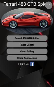Ferrari 488 GTB Car Photos and Videos poster