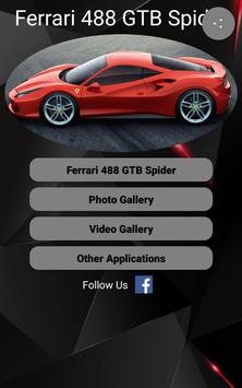 Ferrari 488 GTB Car Photos and Videos screenshot 16