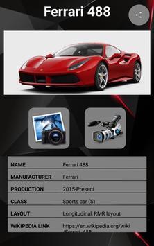 Ferrari 488 GTB Car Photos and Videos screenshot 1