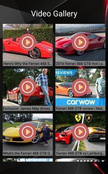 Ferrari 488 GTB Car Photos and Videos screenshot 2