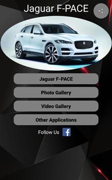 Jaguar F-PACE Car Photos and Videos poster