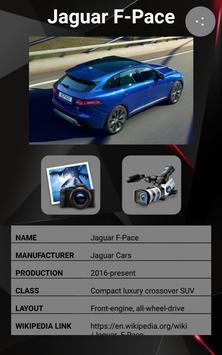 Jaguar F-PACE Car Photos and Videos screenshot 17