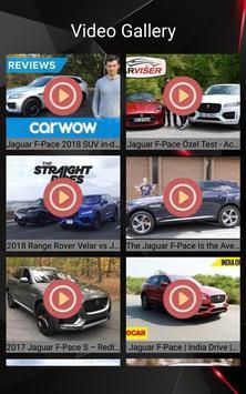 Jaguar F-PACE Car Photos and Videos screenshot 18