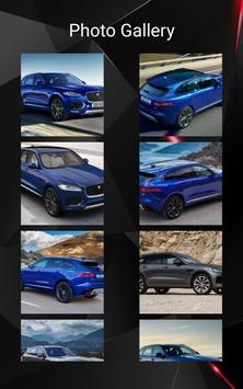 Jaguar F-PACE Car Photos and Videos screenshot 19