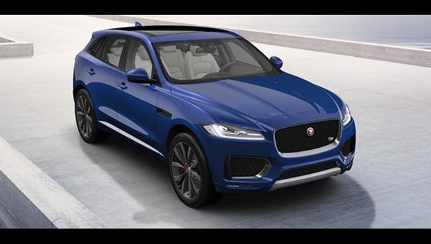 Jaguar F-PACE Car Photos and Videos screenshot 22