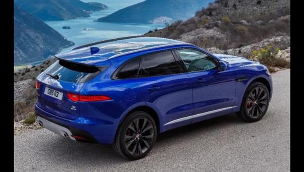 Jaguar F-PACE Car Photos and Videos screenshot 7