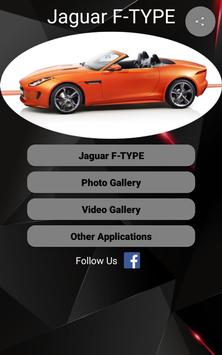 Jaguar F-TYPE Car Photos and Videos poster