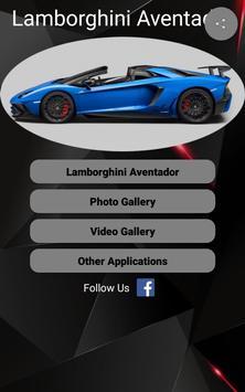 Lamborghini Aventador Car Photos and Videos poster