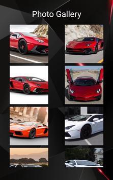 Lamborghini Aventador Car Photos and Videos screenshot 11