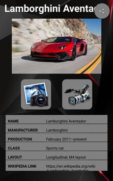 Lamborghini Aventador Car Photos and Videos screenshot 9