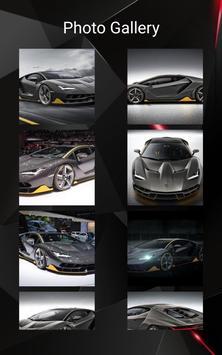 Lamborghini Centenario Car Photos and Videos screenshot 11